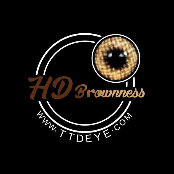 TTDeye HD Brownness Colored Contact Lenses
