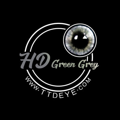 TTDeye HD Green-Grey Colored Contact Lenses