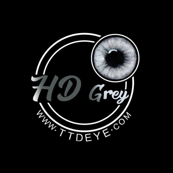 TTDeye HD Grey Colored Contact Lenses