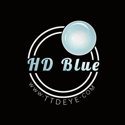 TTDeye HD Blue Colored Contact Lenses