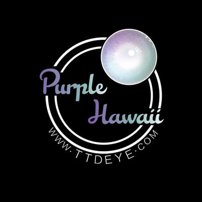 TTDeye Hawaii Purple Colored Contact Lenses