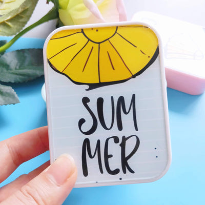 TTDeye Hello Summer 2-in-1 Lens Case
