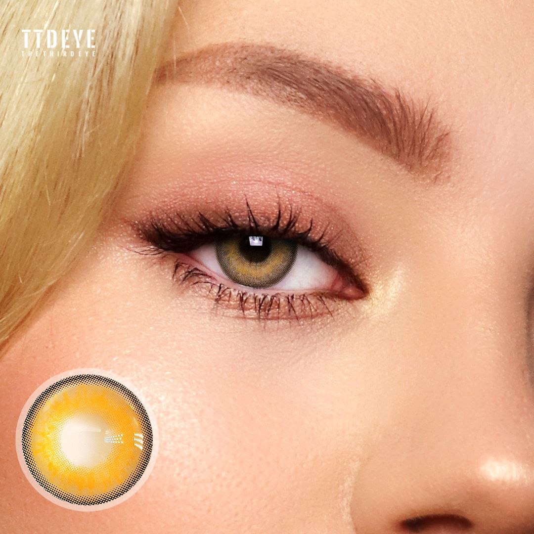 TTDeye Himalaya Brown Colored Contact Lenses