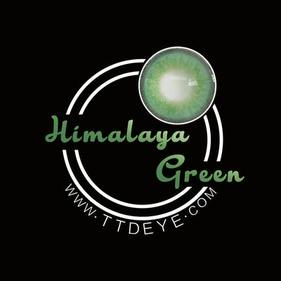 TTDeye Himalaya Green Colored Contact Lenses