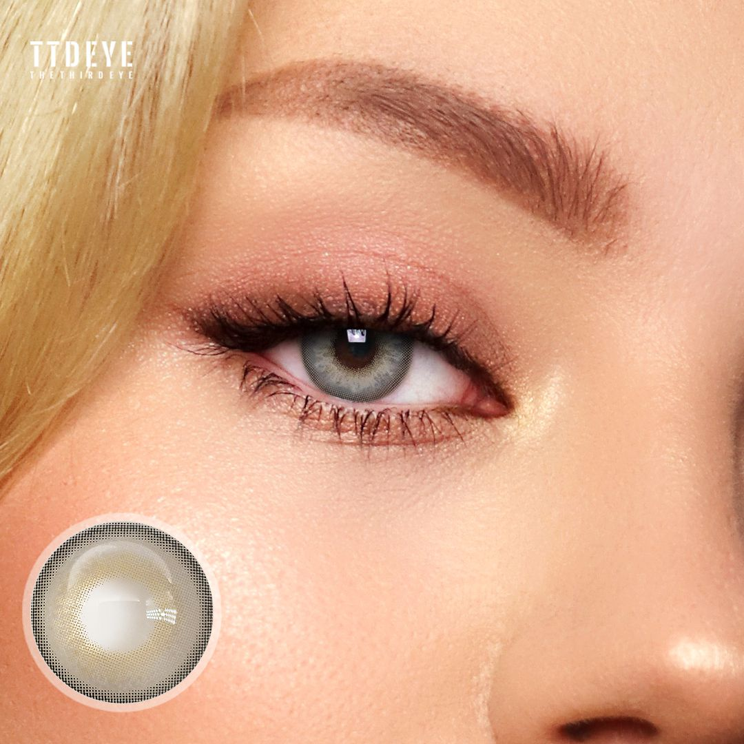 TTDeye Himalaya Grey Colored Contact Lenses