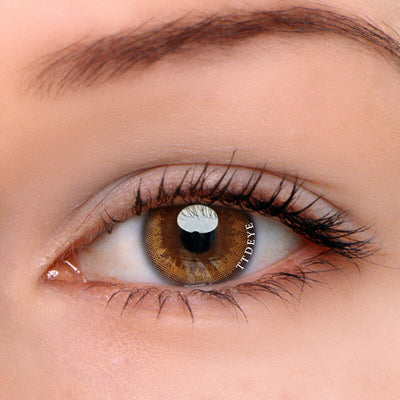 TTDeye Honey Brown Colored Contact Lenses
