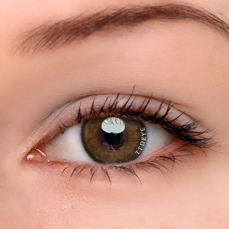 TTDeye Honeybee Brown Colored Contact Lenses