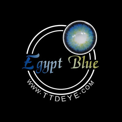 TTDeye Egypt Blue Colored Contact Lenses