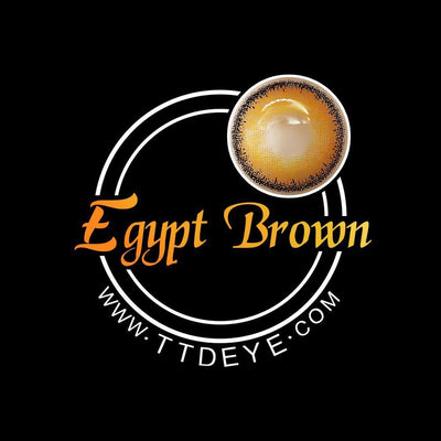 TTDeye Egypt Brown Colored Contact Lenses