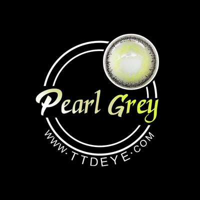 TTDeye Pearl Grey Colored Contact Lenses