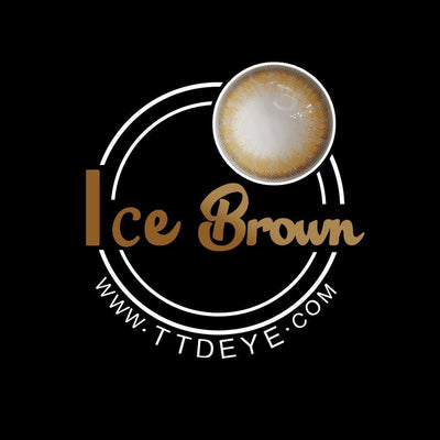 TTDeye Ice Brown Colored Contact Lenses