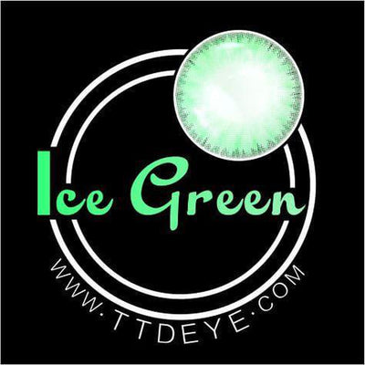 TTDeye Ice Green Colored Contact Lenses