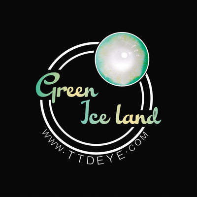 TTDeye Iceland Green Colored Contact Lenses
