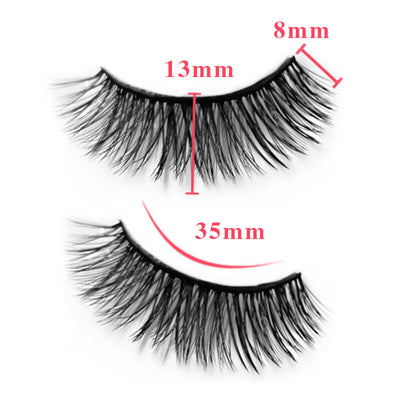 TTDeye Poison Apple 3 Piece Dramatic Eyelashes
