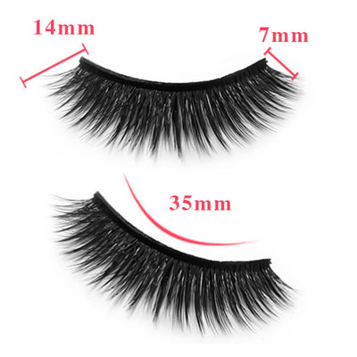 TTDeye Neon Light 3 Piece Dramatic Eyelashes