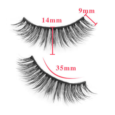 TTDeye Non Mainstream 3 Piece Natural Eyelashes