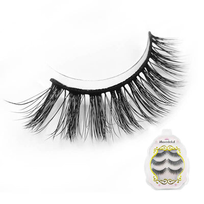 TTDeye Iced Tea 3 Piece Dramatic Eyelashes