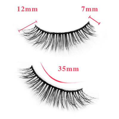 TTDeye Effortless Chic 3 Piece Natural Eyelashes