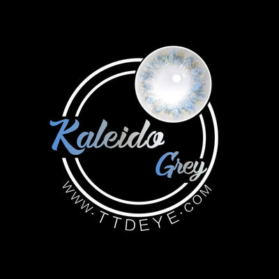 TTDeye Kaleido Grey Colored Contact Lenses