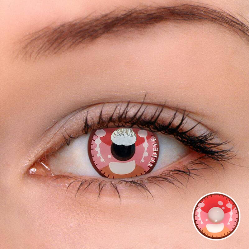 TTDeye Kawaii Pink Colored Contact Lenses