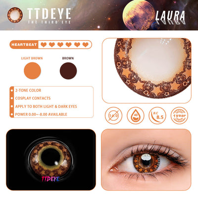 TTDeye Laura Colored Contact Lenses