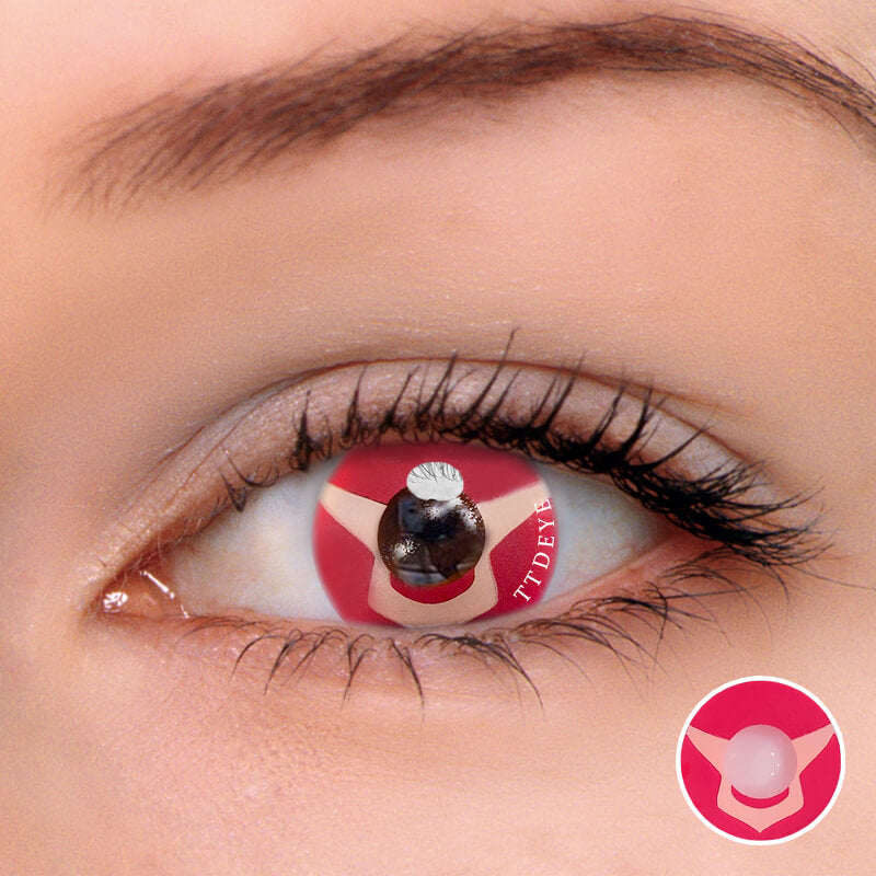 TTDeye Lelouch Red Colored Contact Lenses