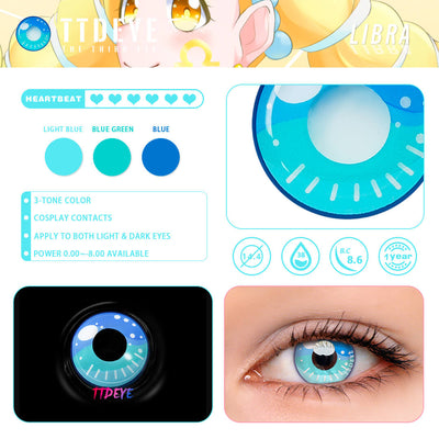 TTDeye Libra Colored Contact Lenses