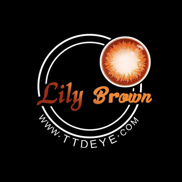 TTDeye Lily Brown Colored Contact Lenses