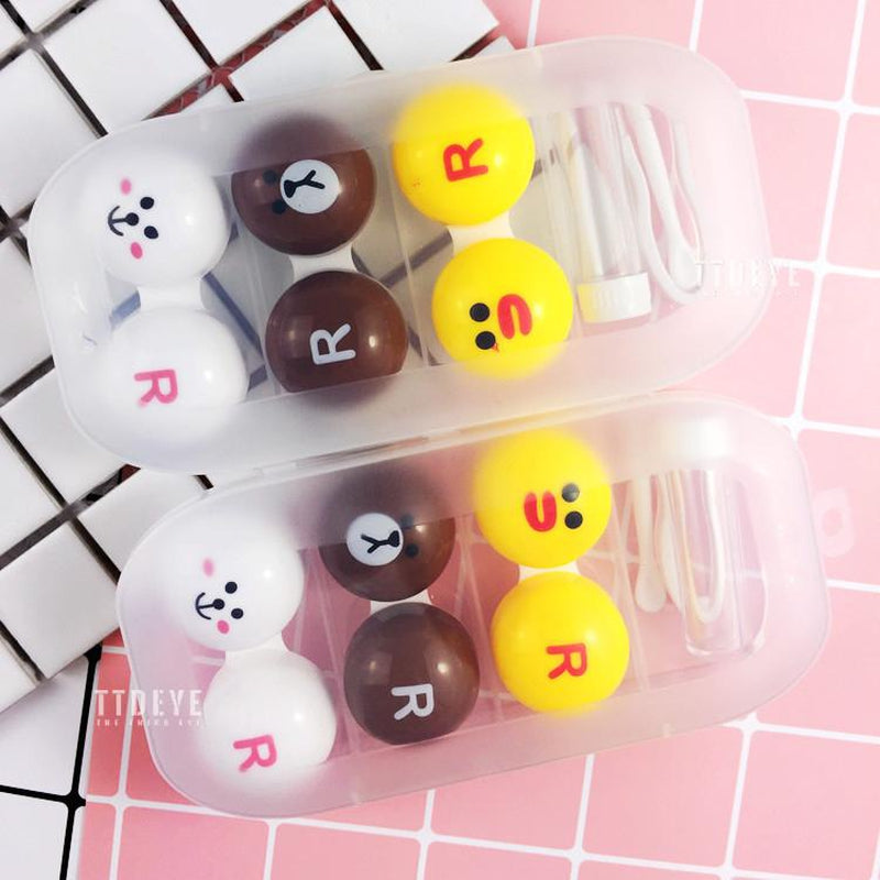 TTDeye Line Friends 3-in-1 Lens Case
