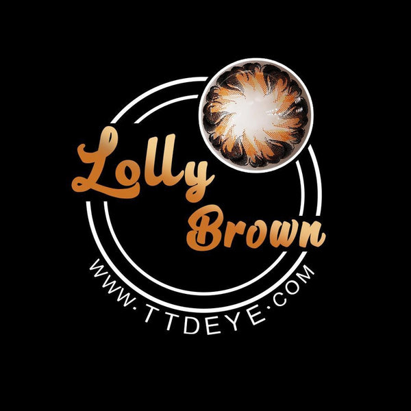 TTDeye Lolly Brown Colored Contact Lenses