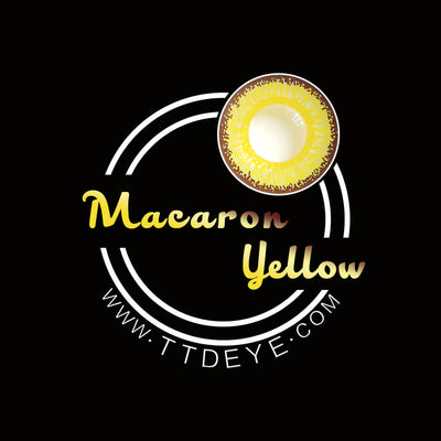 TTDeye Macaron Yellow Colored Contact Lenses