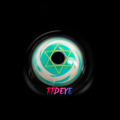 TTDeye Magic Circle Green Colored Contact Lenses
