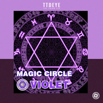 TTDeye Magic Circle Violet Colored Contact Lenses