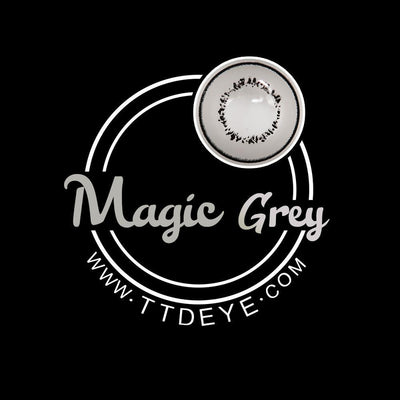 TTDeye Magic Grey Colored Contact Lenses