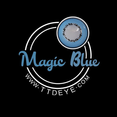 TTDeye Magic Blue Colored Contact Lenses