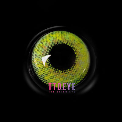 REAL x TTDeye Milan Green Colored Contact Lenses