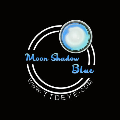 TTDeye Moon Shadow Blue Colored Contact Lenses