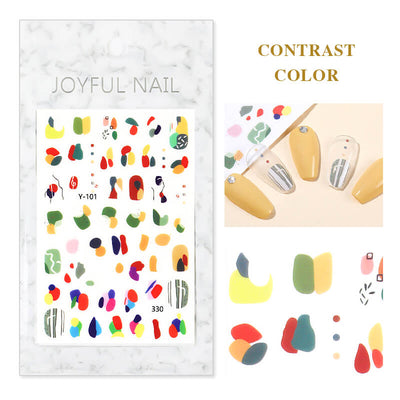 TTDeye Morden Art Nail Stickers