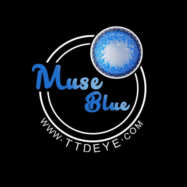 TTDeye Muse Blue Colored Contact Lenses