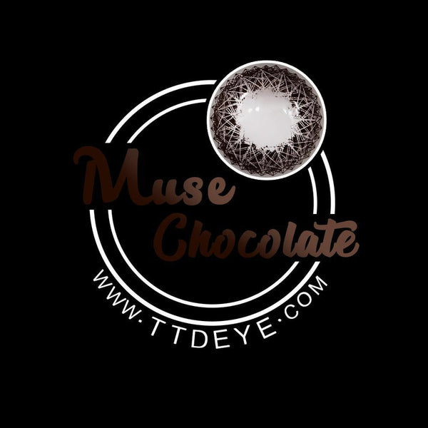 TTDeye Muse Chocolate Colored Contact Lenses