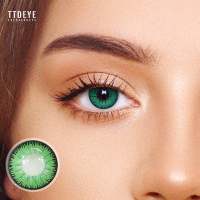 TTDeye Mystery Green Colored Contact Lenses