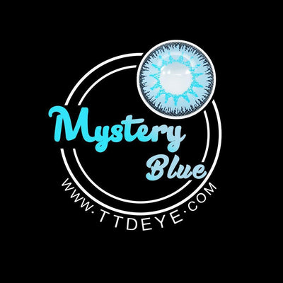 TTDeye Mystery Blue Colored Contact Lenses