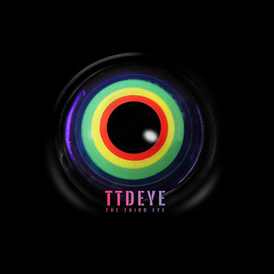 TTDeye Neon Light Colored Contact Lenses