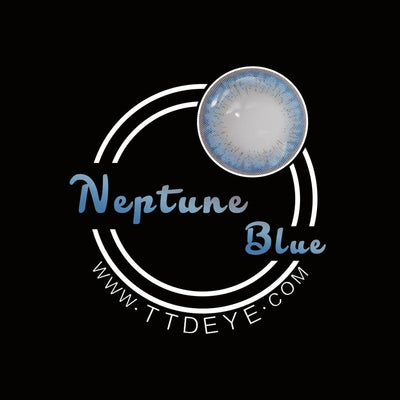 TTDeye Neptune Blue Colored Contact Lenses