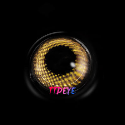 TTDeye Night Club Brown Colored Contact Lenses
