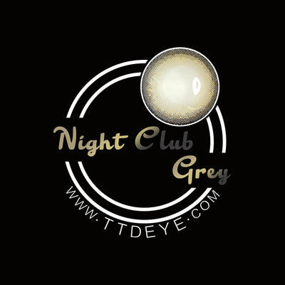 TTDeye Night Club Grey Colored Contact Lenses