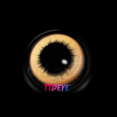 TTDeye Nude Brown Colored Contact Lenses