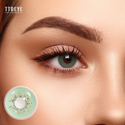 TTDeye Ocean Green Colored Contact Lenses