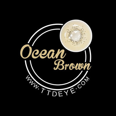 TTDeye Ocean Brown Colored Contact Lenses
