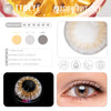 TTDeye Passion Fruit Grey Colored Contact Lenses